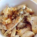 腸内環境改善レシピ★エリンギの三五八漬けアレンジ!きのこの桜チーズ炒めの作り方