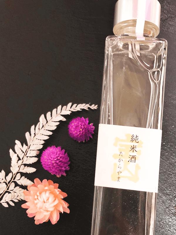 純米酒を化粧水として使用