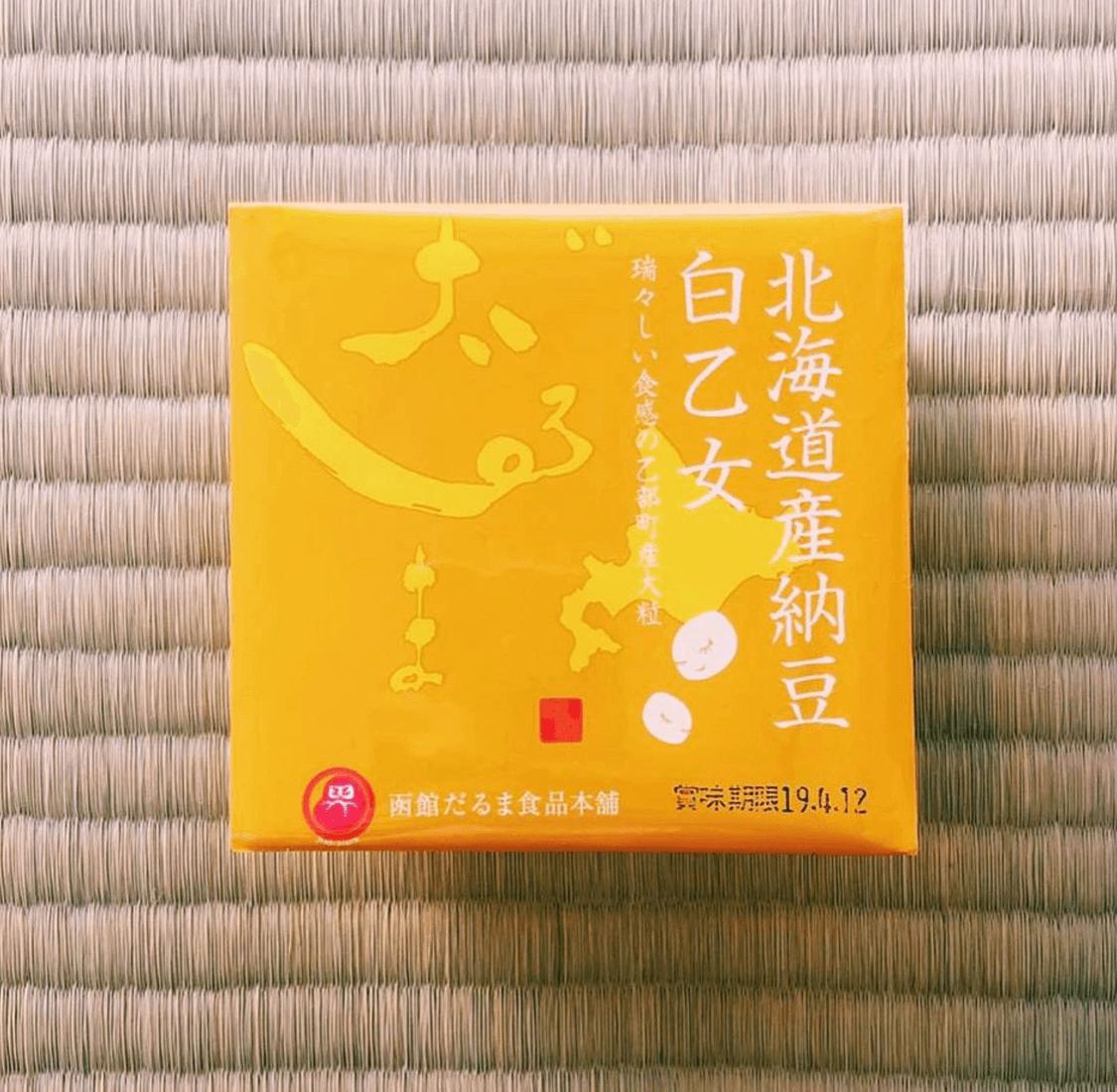 白乙女納豆(だるま食品本舗)