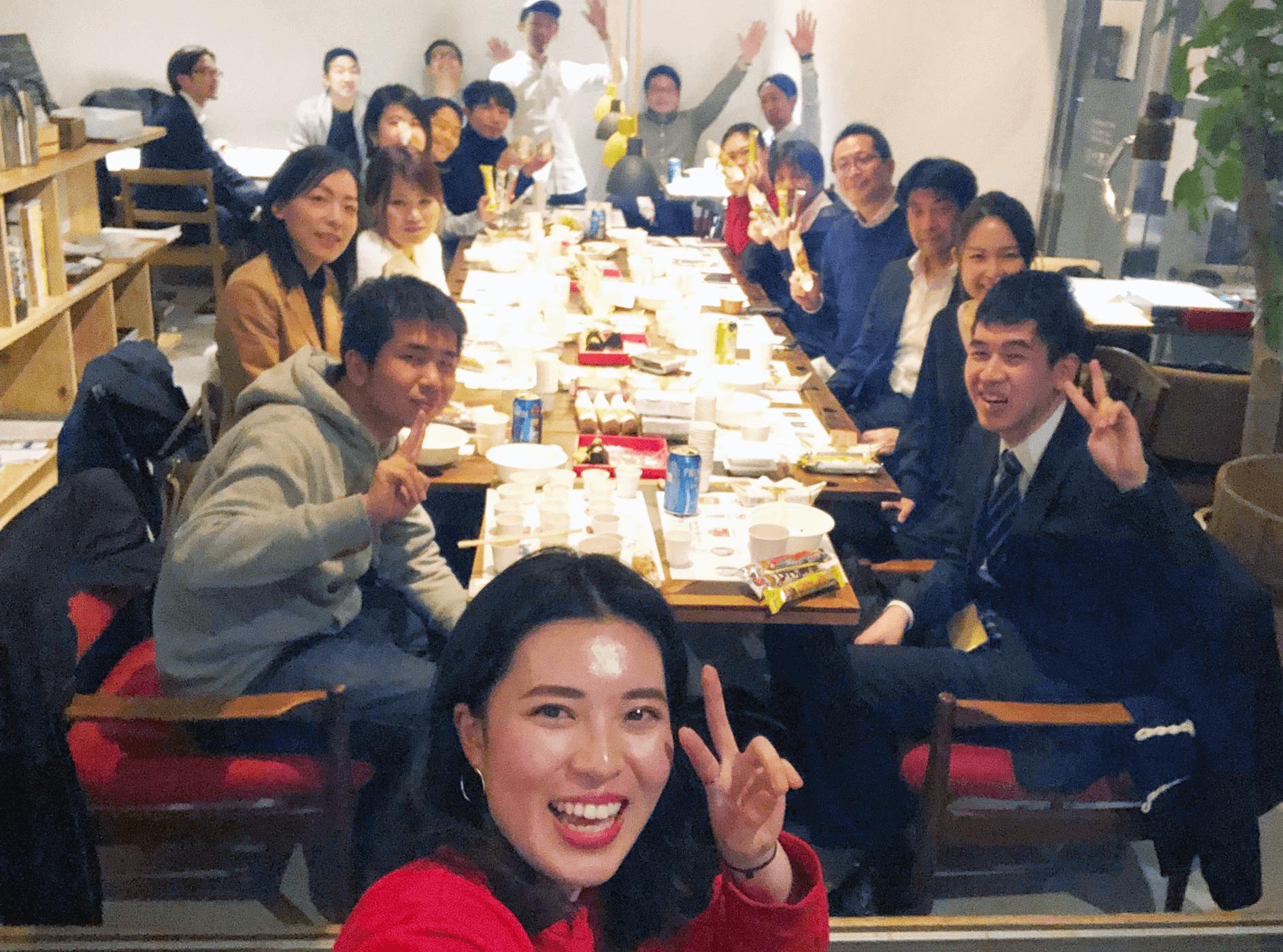 納豆イベントの風景